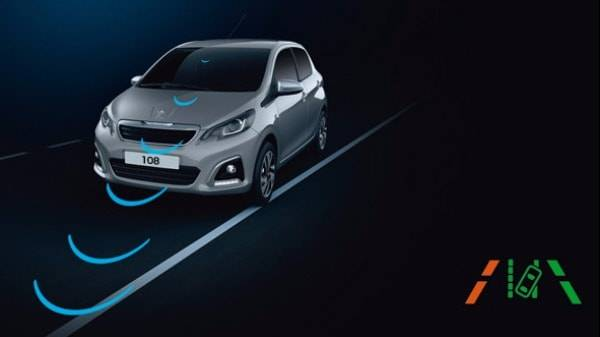 peugeot 108 lane departure warning system