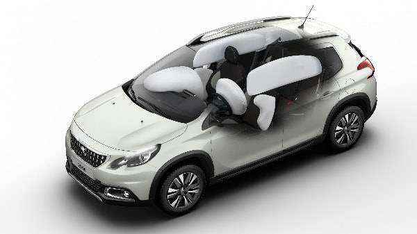 peugeot 2008 airbag system