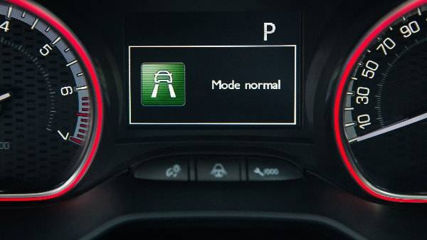 PEUGEOT 2008 DRIVING MODE