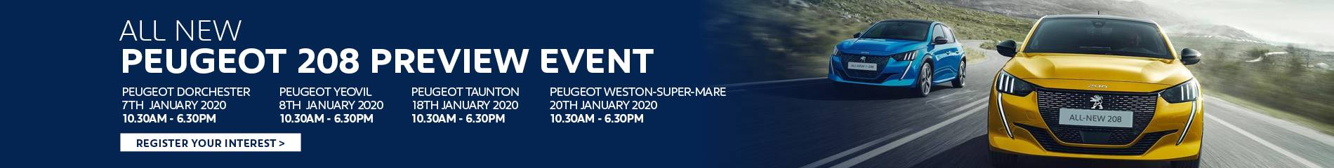 Peugeot 2008 Preview Event