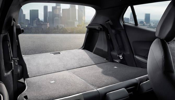 Peugeot 2008 SUV Boot Space