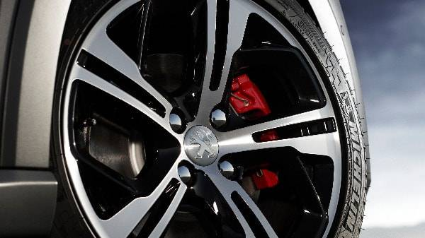 peugeot 208 GTi 5 spoke alloy wheels