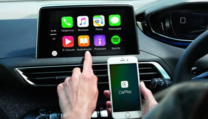 Peugeot 3008 Apple CarPlay