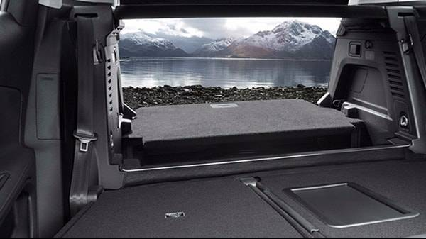 Peugeot 3008 Boot space