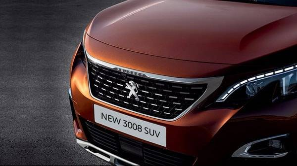 Peugeot 3008 Grill