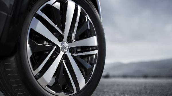 PEUGEOT 3008 SPLIT 5 SPOKE ALLOY WHEEL