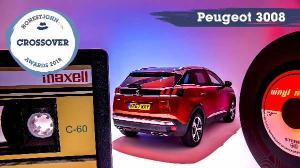 PEUGEOT 3008 SUV Voted Most Popular Crossover 2018