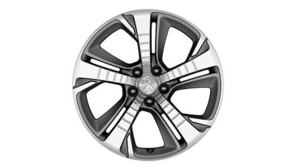 peugeot 308gti chrome alloy wheel