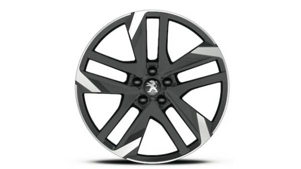 peugeot 308gti chrome and black alloy wheel