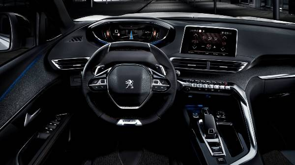 peugeot 5008 suv - drivers view