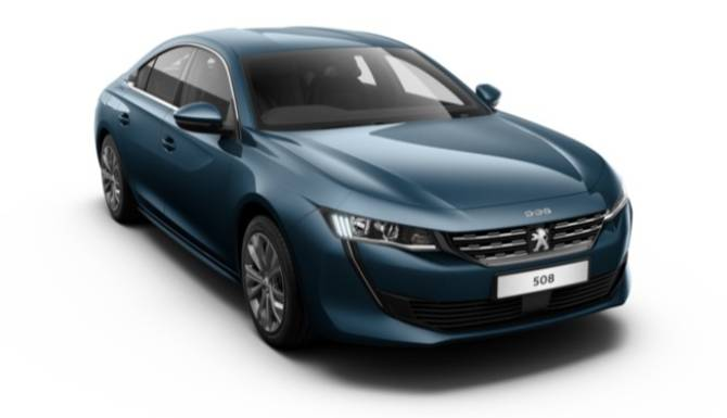 Peugeot 508 Fastback Active Blue Right