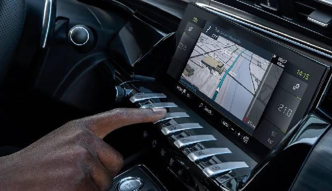 Peugeot 508 PSE i-cockpit toggles