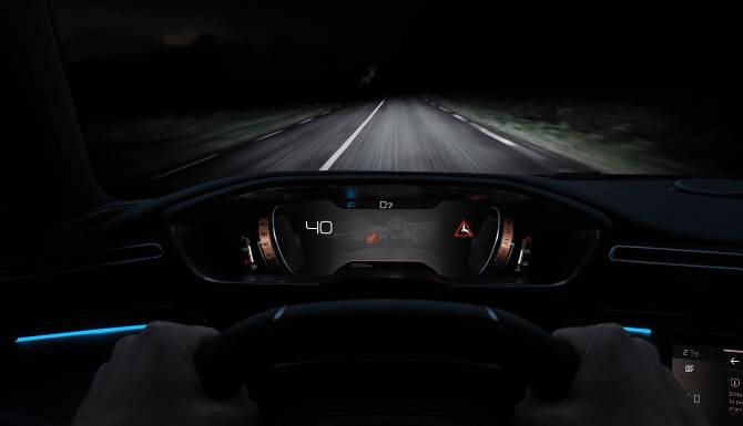 Peugeot 508 SW Night View