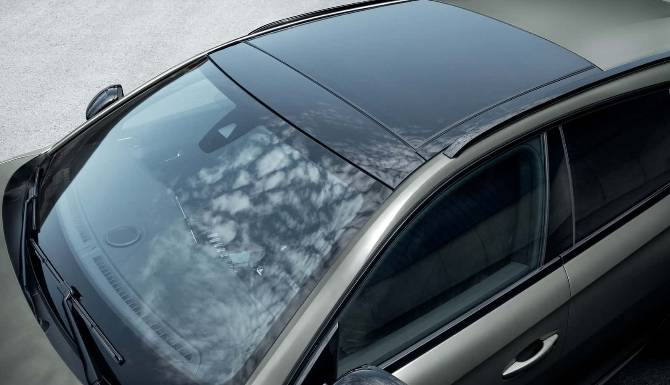 Peugeot 508 SW Roof View