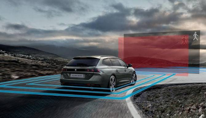 Peugeot 508 SW Safety Features