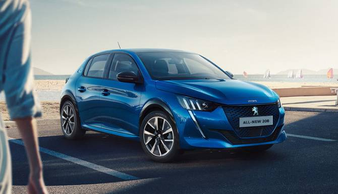 THE ALL-NEW PEUGEOT 208 WAS NAMED THE 2020 EUROPEAN CAR OF THE YEAR