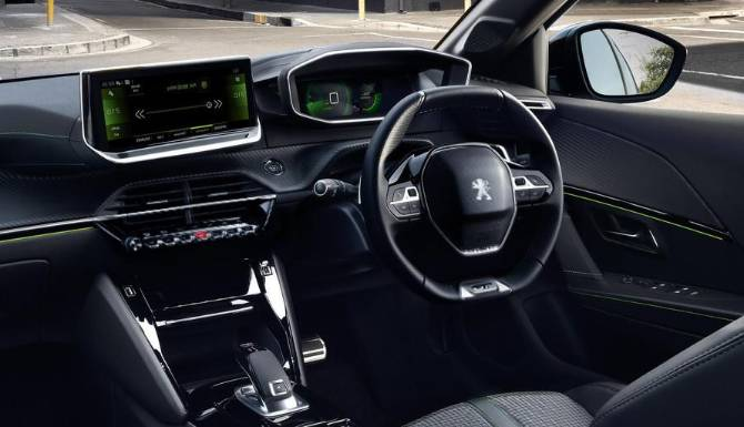 Peugeot All-New 208 Interior Cockpit