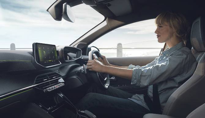 Peugeot All-New 208 Interior Highlights