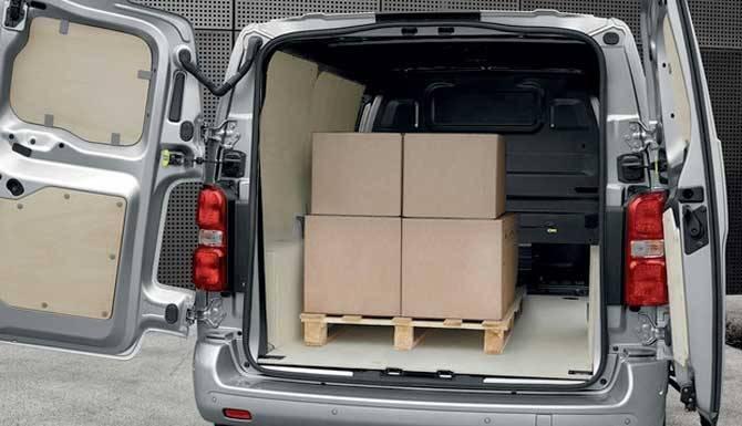 peugeot expert loading capacity