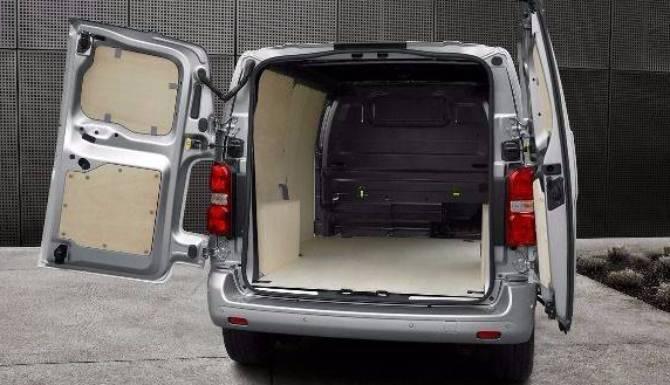 Peugeot expert storage