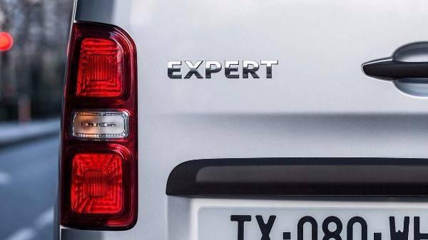 Peugeot expert van headlights