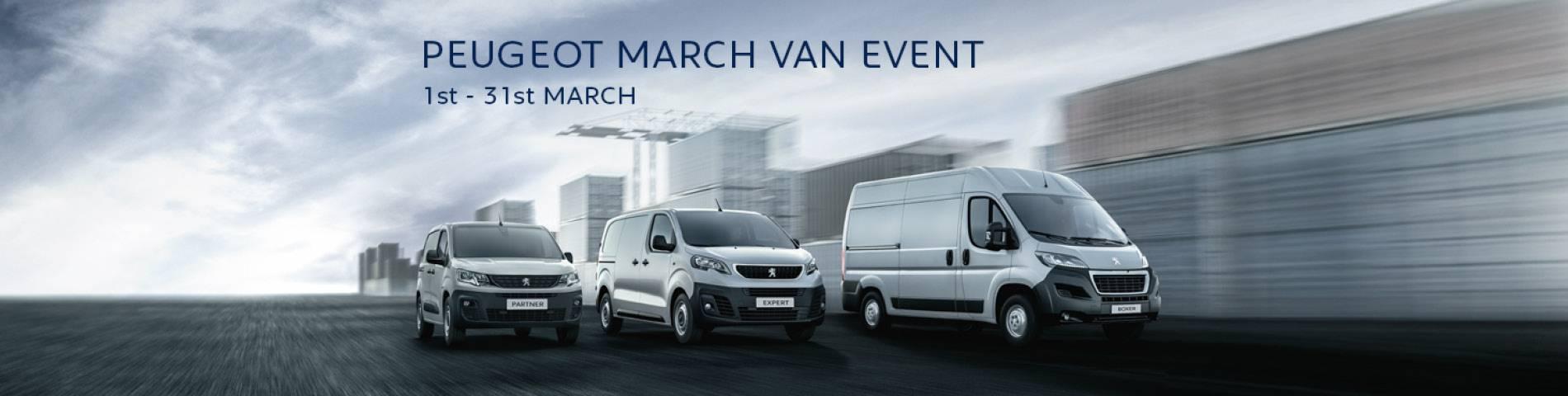 Peugeot March Van Event