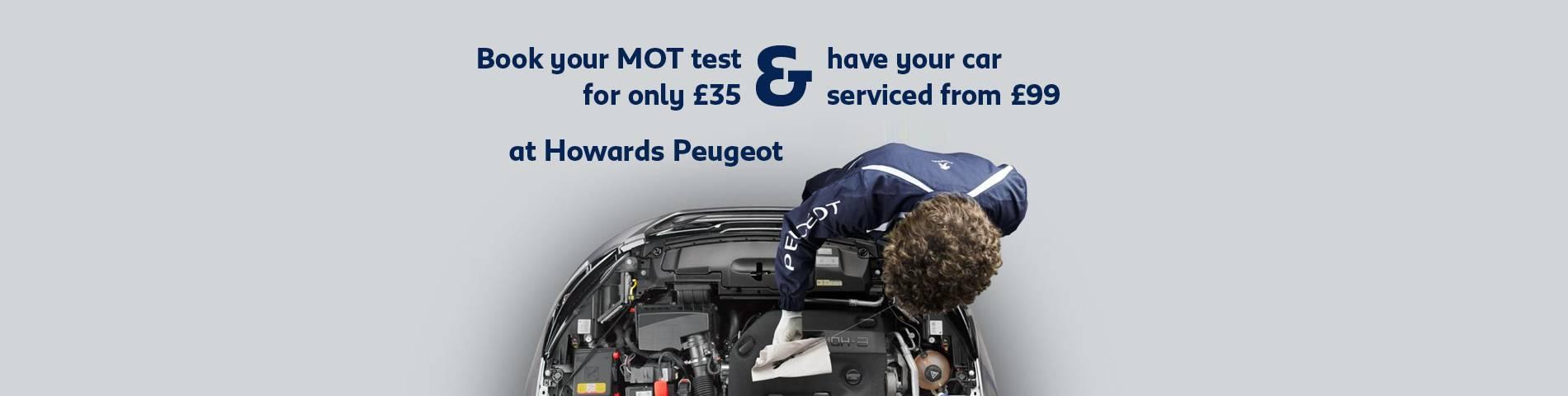 Peugeot MOT & Service