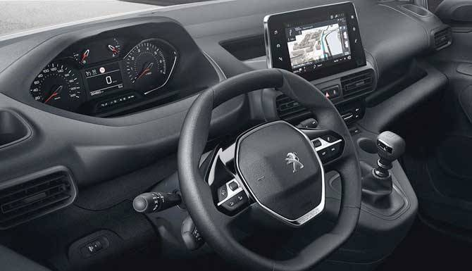 Peugeot Partner Drivers View