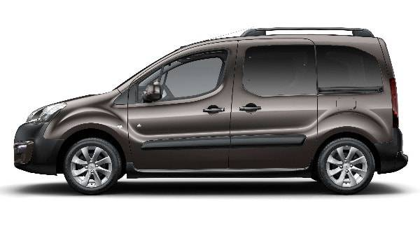 Peugeot Partner Tepee 5 Door Side View
