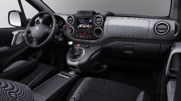 Peugeot Partner Tepee Cockpit