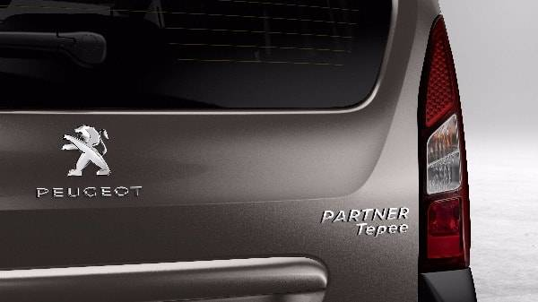 Peugeot Partner Tepee Rear Badge