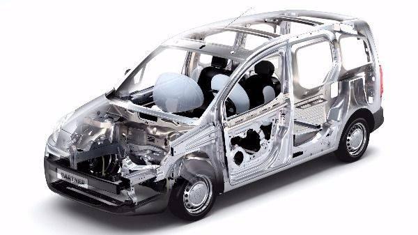 Peugeot Partner van structure