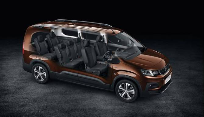 Peugeot Rifter 7 Seater
