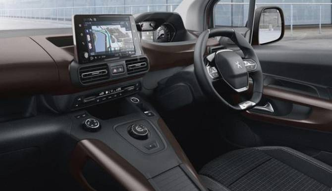 Peugeot Rifter Dashboard