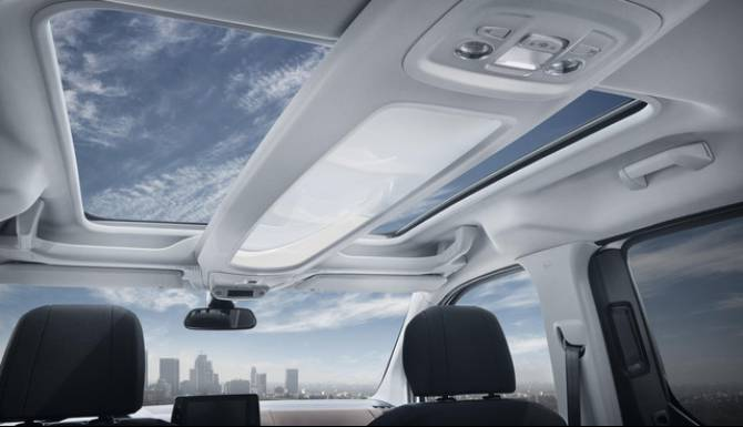 Peugeot Rifter Sunroof Daylight