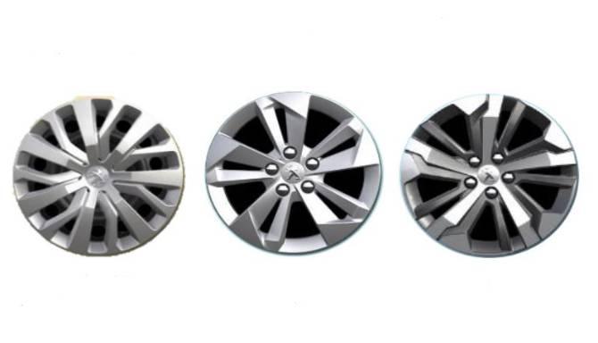 Peugeot Rifter Wheels