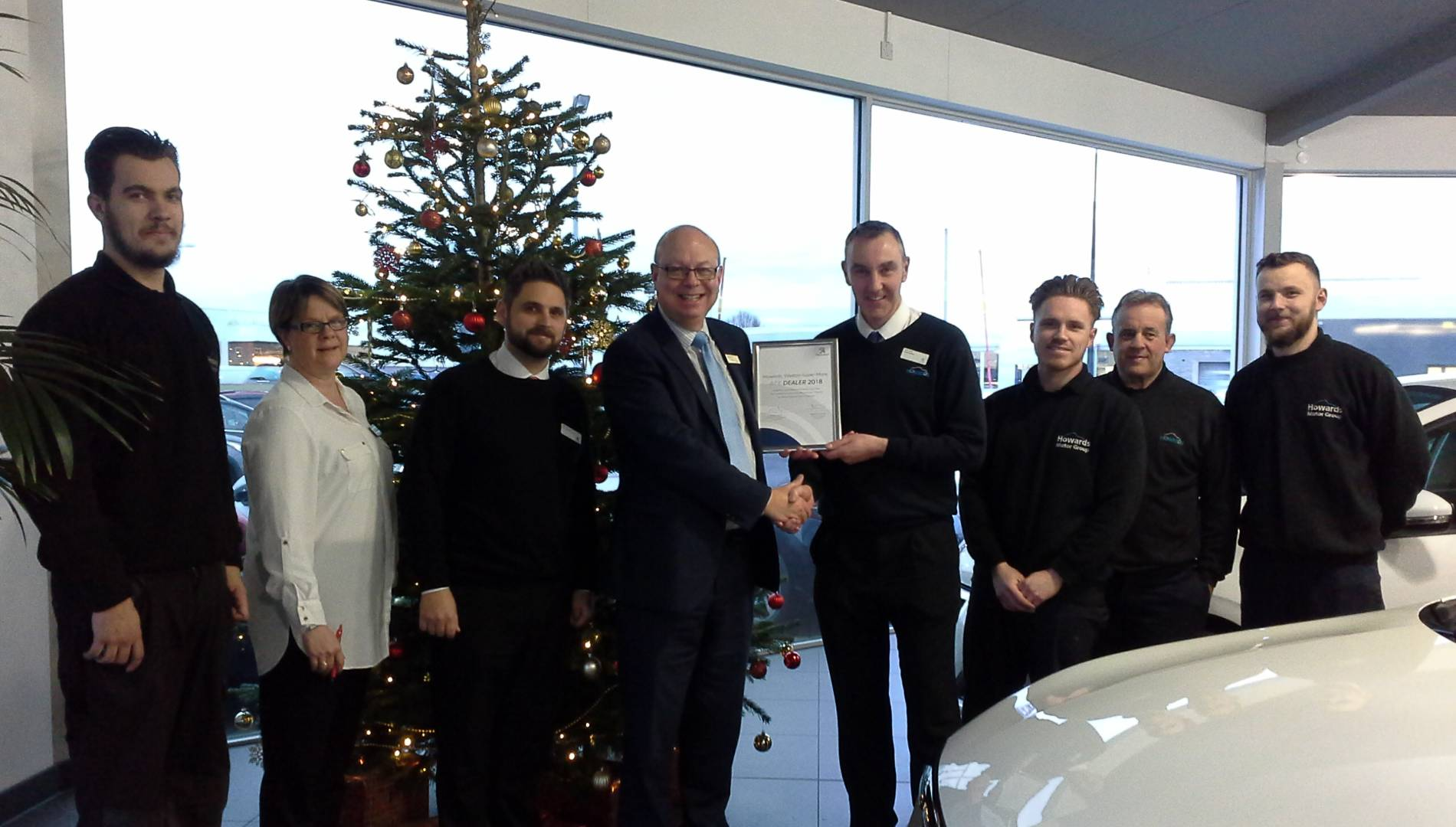 Howards Peugeot Weston-Super-Mare Achieve Highest UK Score for Pro2Ace Accreditation with Peugeot UK.