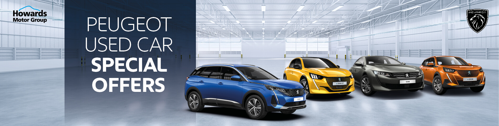 Howards Peugeot Used Car Offers