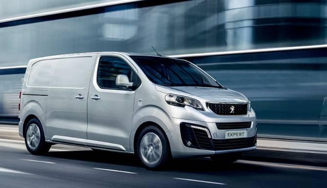 Peugeot Vans Promo Block Expert