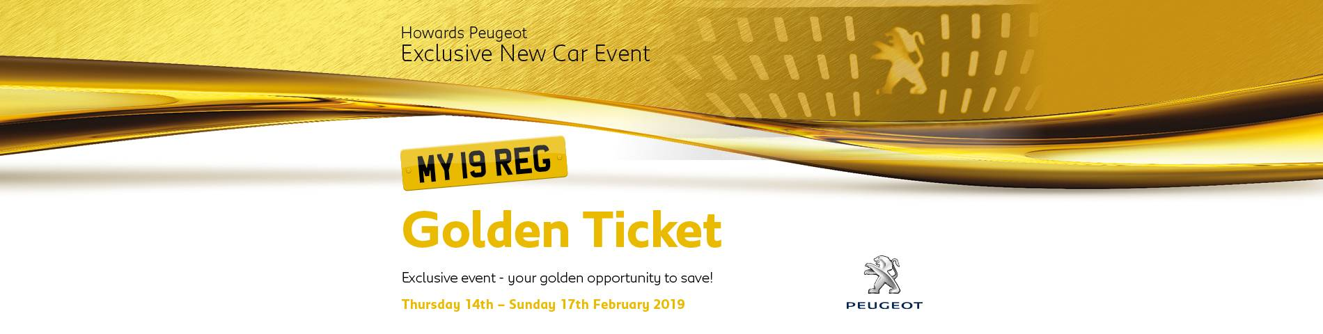 Peugeot WSM Golden Ticket