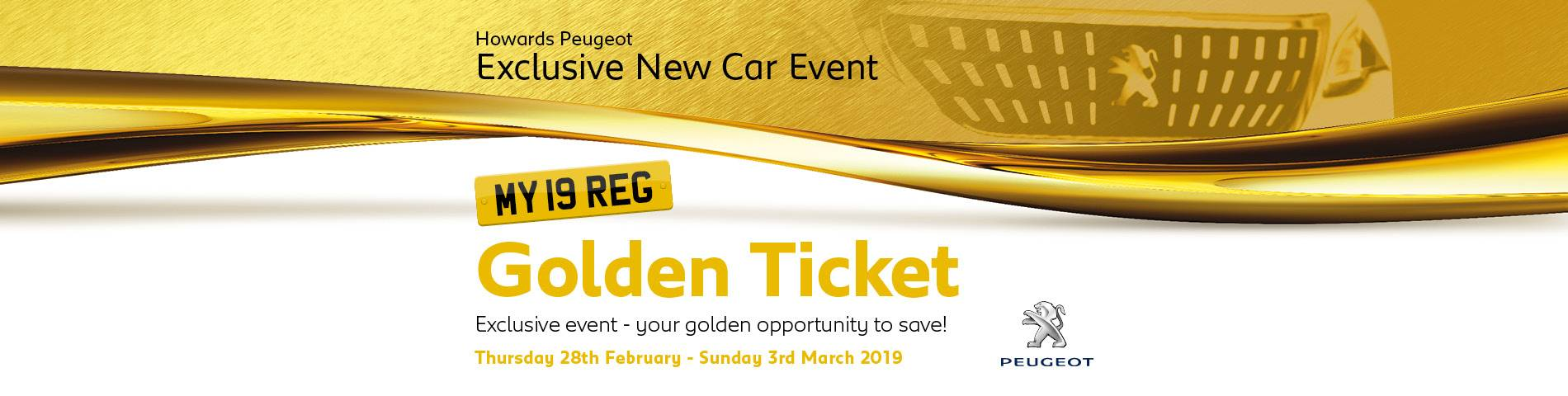Peugeot Golden Ticket