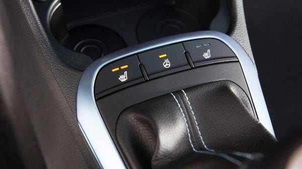 Picanto heated seat options