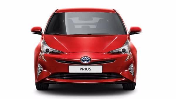 Prius Hybrid red