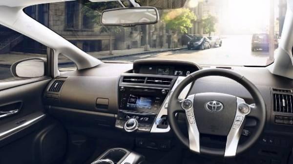 Prius+ Interior