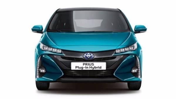 Prius Plug in Hybrid blue