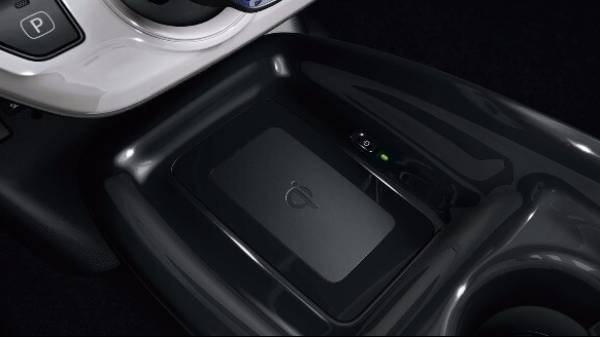 Prius wireless phone charger