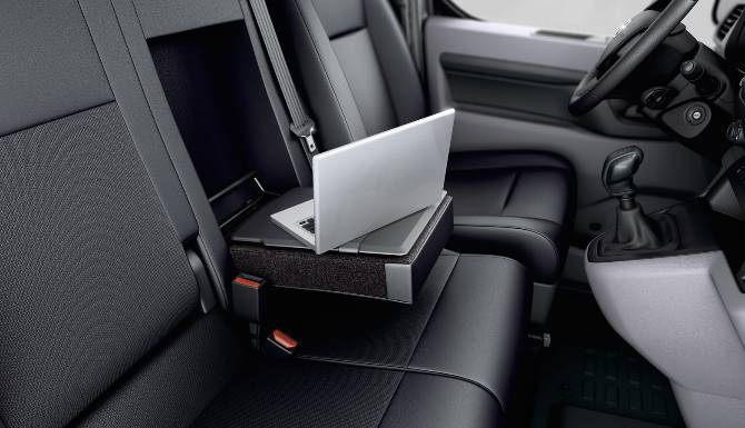 Proace Front Seat Fold Down