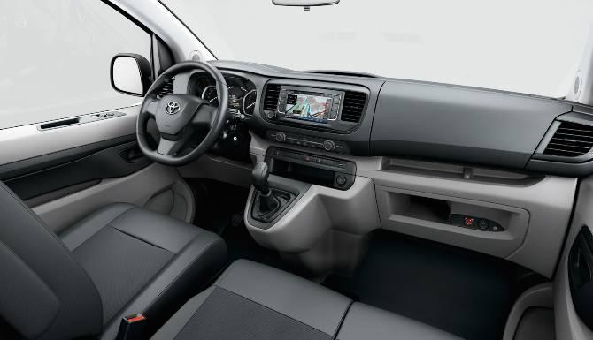 Proace Interior dashboard