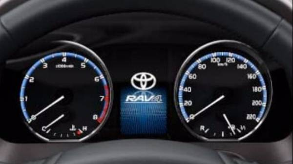 "RAV4 4.2"" TFT screen"