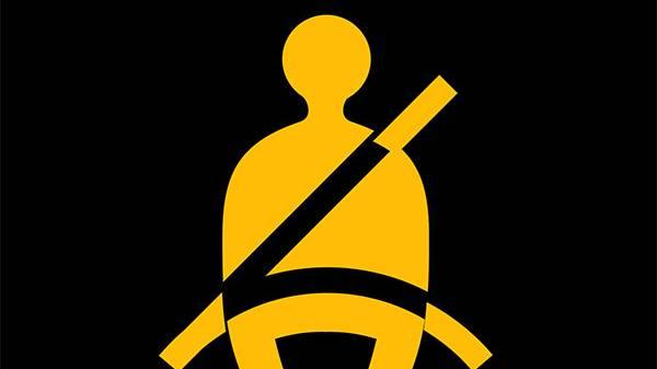 Seatbelt sign